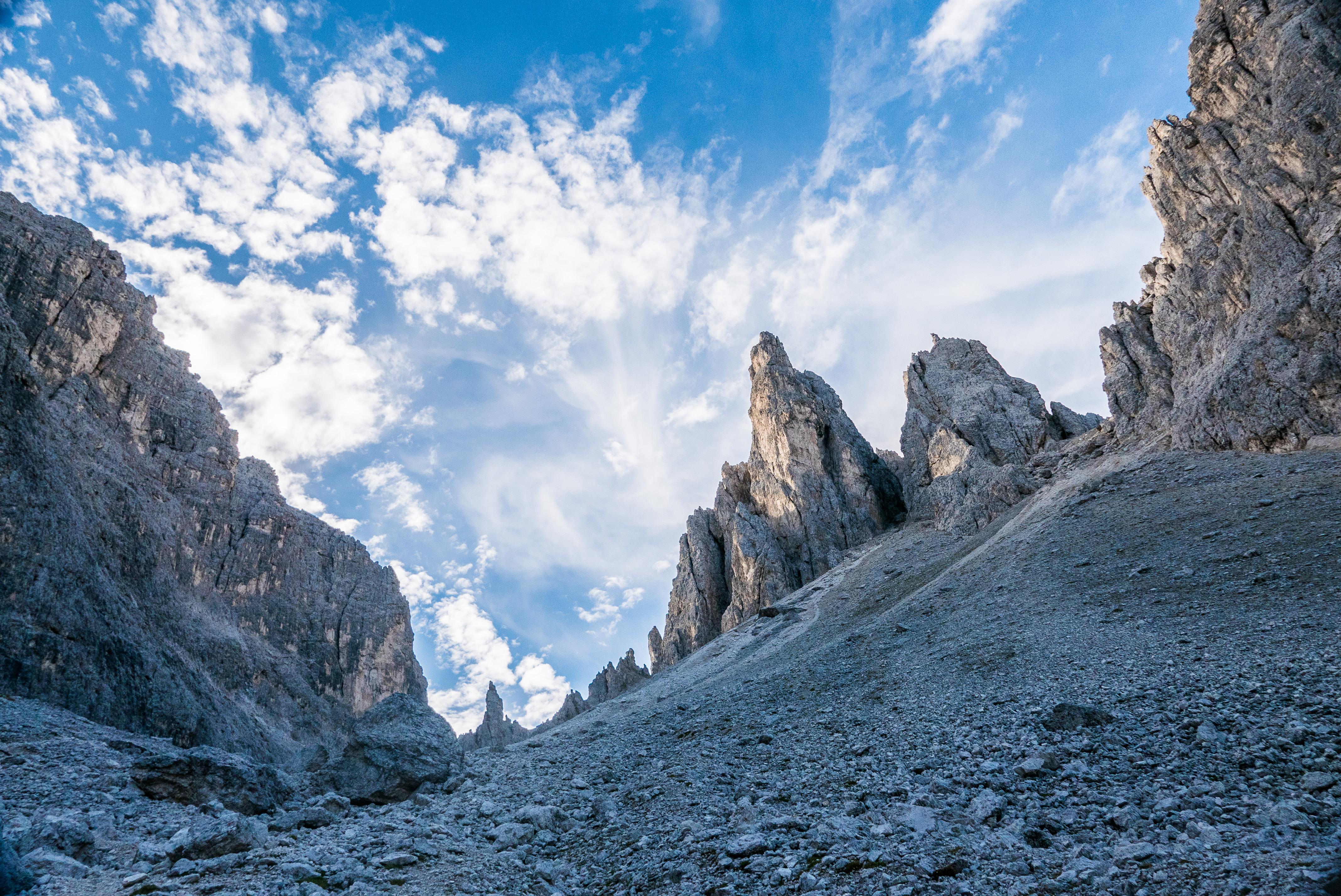 Mit Bergführer von ProAlpina aus Südtirol - Einprägsame Klettertouren in den Dolomiten - Große Fermeda
